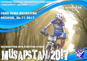 MTB štafeta Musapstan 2017 - rekreativna utrka @ Zadar | Hrvatska